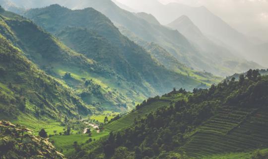 Vietnam landskab